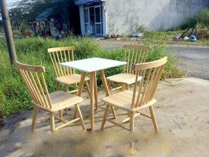 Bàn cafe gỗ 08 – BGG08