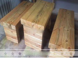Bàn ghế gỗ thông 03 – BGG03