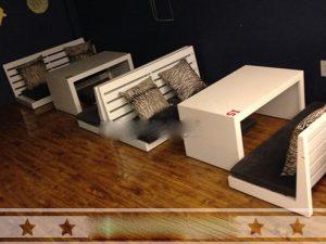Bàn ghế gỗ cafe giá rẻ 05 – BGG05