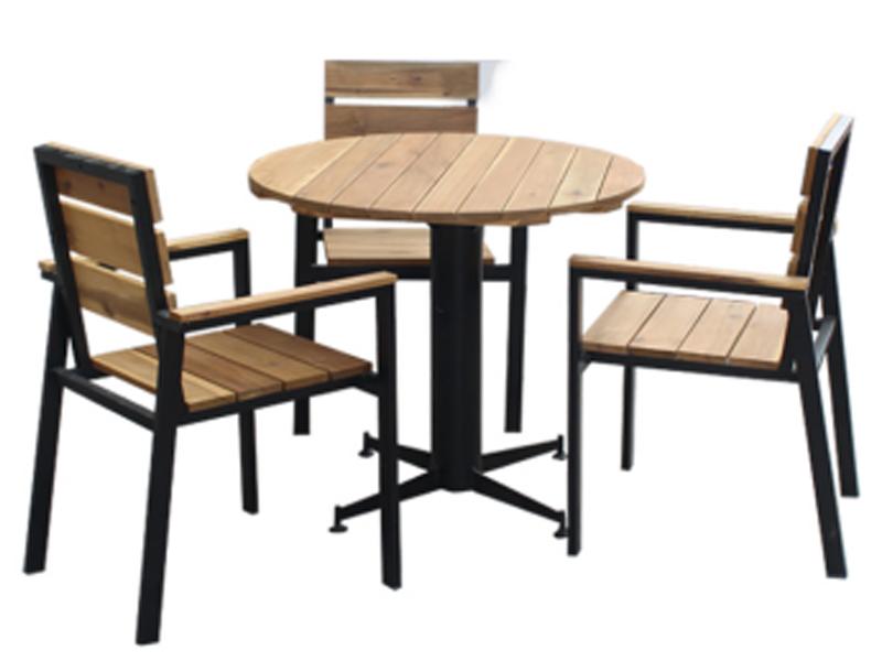 Bàn ghế gỗ cafe 14
