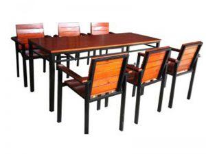 Bàn gỗ quán cafe 11 – BGG11