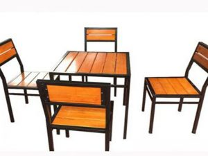 Ghế cafe gỗ 10 – BGG10