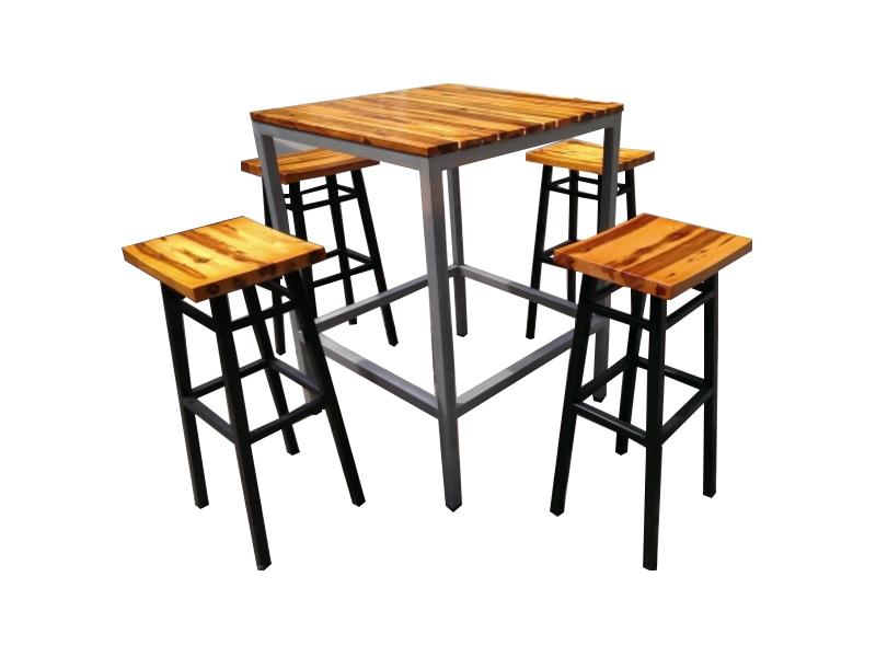 Ghế quầy bar gỗ 02