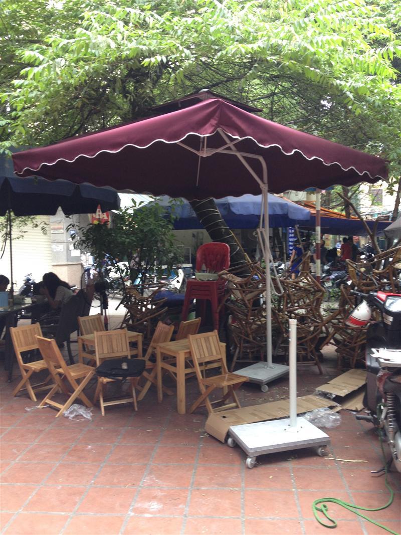 Ô lệch tâm cho quán cafe nhà hàng kích cỡ 2.2 m